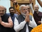 Modi, Shah hold parleys on cabinet, Oppn CMs to stay away from swearing-in