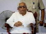 Buddhadeb Bhattacharya hospitalised with acute respiratory problem