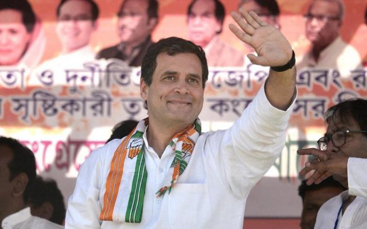 Rahul Gandhi makes poll promise, announces Rs. 72,000 minimum income scheme