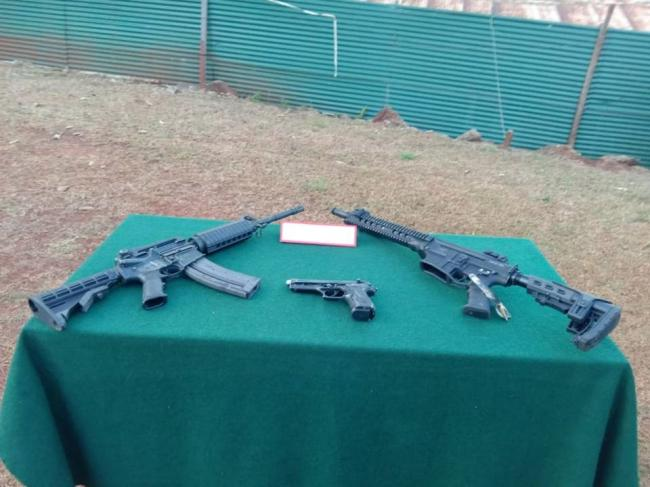 Assam Rifles recover arms in Manipur