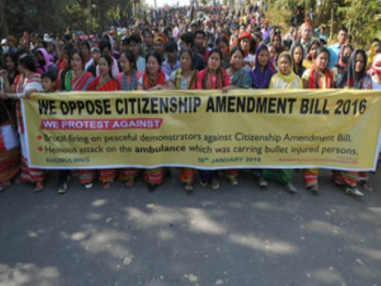 Jamia Millia students stage protest against Citizenship Amendment Bill (CAB)