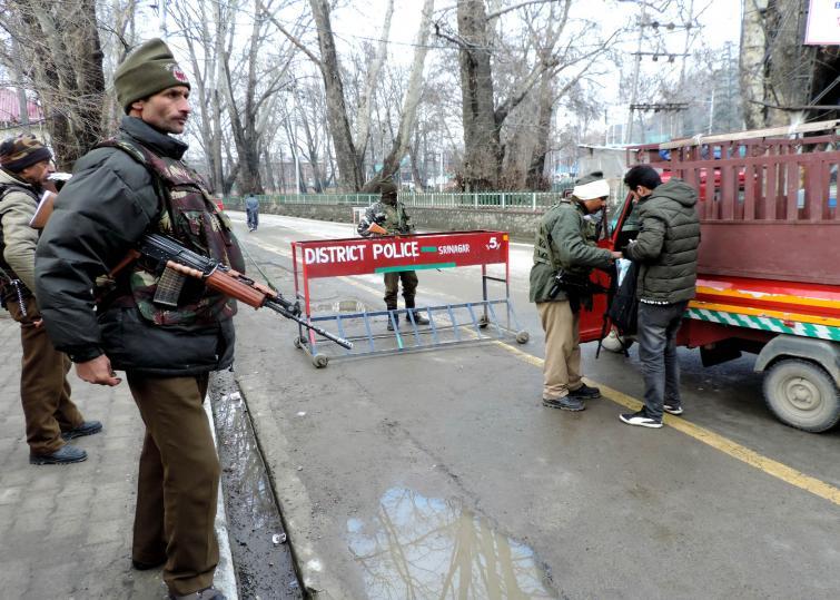 Jammu and Kashmir: Encounter underway between terrorists in Ganderbal