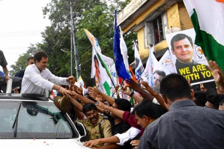 Rahul Gandhi thanks people of Wayanad for voting in his favour