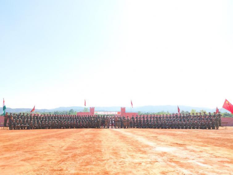 India-China joint military exercise begins in Meghalaya's Umroi