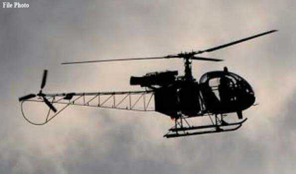 Indian Army's Cheetah copter makes emergency landing