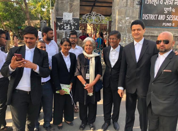 Advocate Indira Jaising objects to attorney-general referring to her as Anand Grover's wife in court