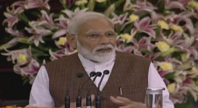 Time has come to take the country to new height: Narendra Modi