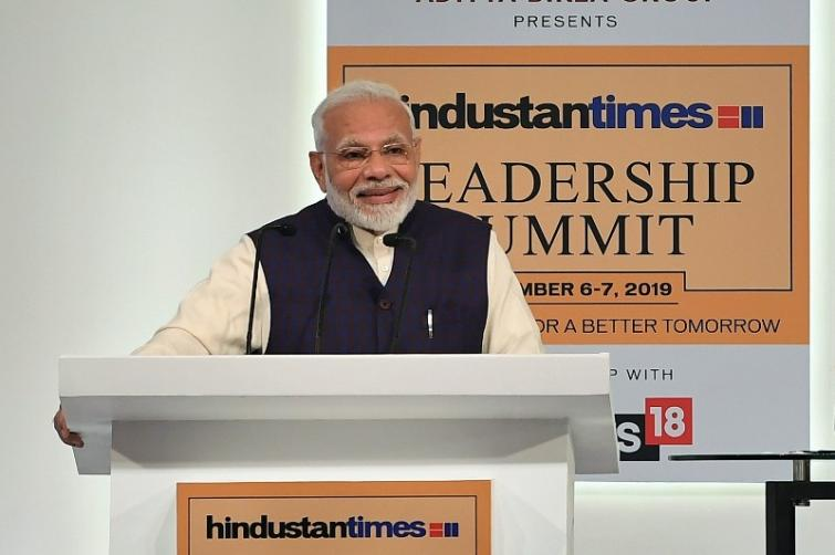 PM addresses Hindustan Times Leadership Summit, asserts government is working on present challenges