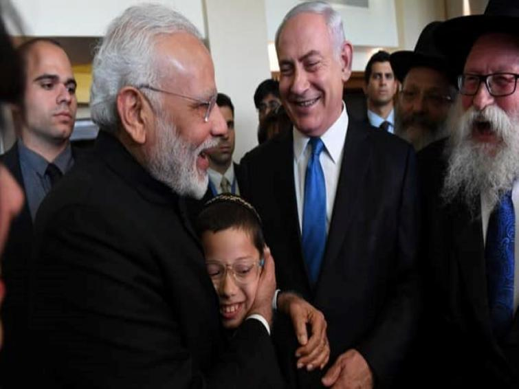 PM Modi writes a moving message to Israeli boy who survived 26/11 Mumbai attack