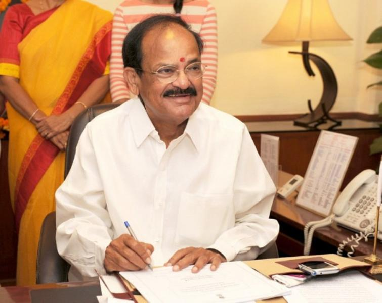 Vice President Naidu expresses anguish over falling quality of poll debates