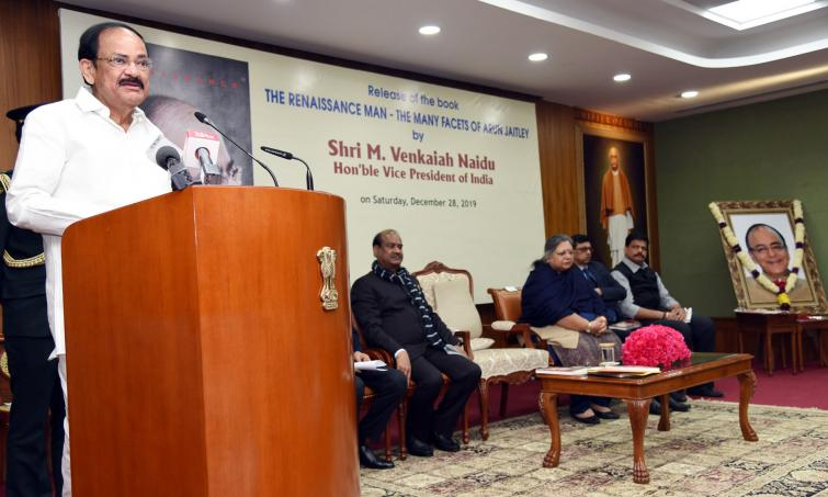 Vice President Naidu calls for enlightened debate on larger issues
