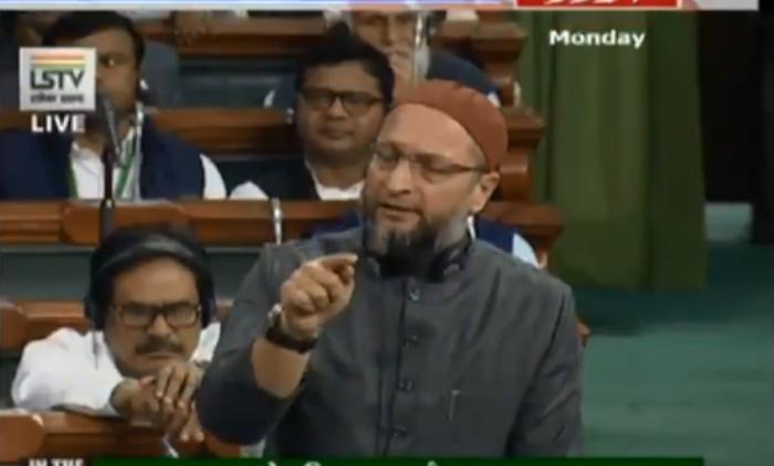 Amid heated debate Asaduddin Owaisi tears Citizenship Amendment Bill in Lok Sabha