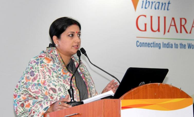 Congress president Rahul Gandhi a 'congenial liar': Smriti Irani