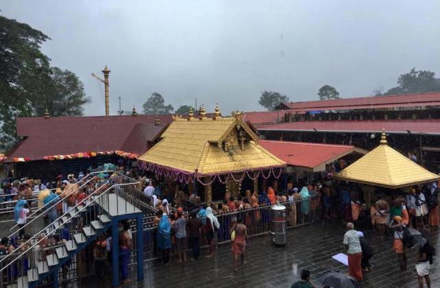 Girl barred from proceeding to Sabarimala Temple in Kerala