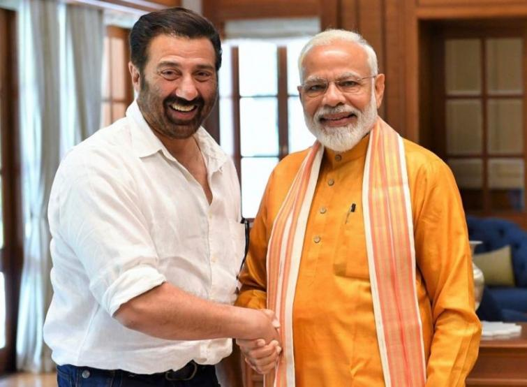 PM Narendra Modi touched by Sunny Deol's 'humility and deep passion'