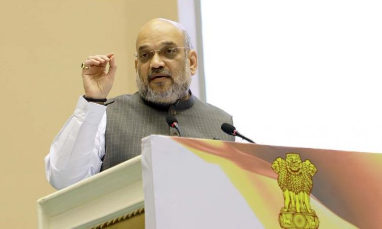 Amit Shah expresses 'people's doubt' over multi-party democracy, Congress, CPI-M hit back