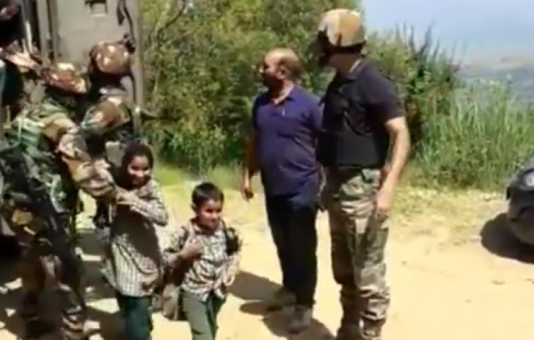 Army rescues nearly 20 kids from school near LoC