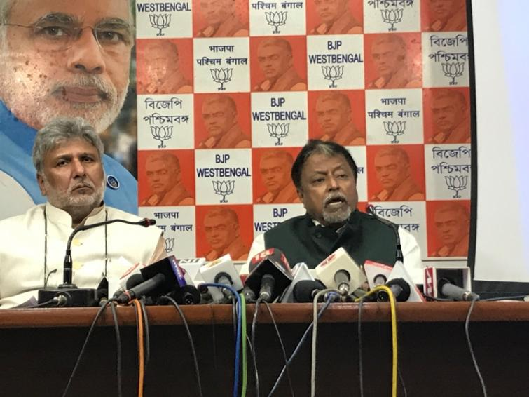 TMC attacked BJP's Jay Prakash being aware of defeat in by-elections: Mukul Roy
