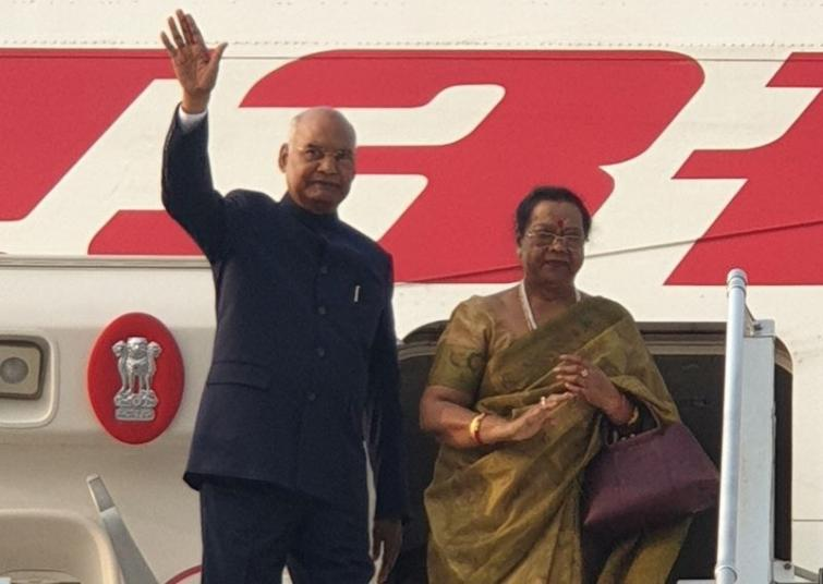 President Ram Nath Kovind departs for state visit to Philippines