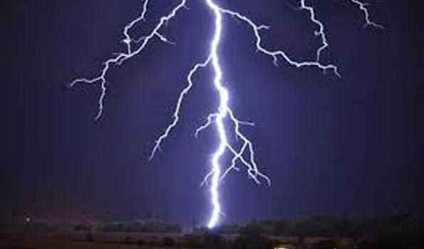 One dies in lightning in Palghar