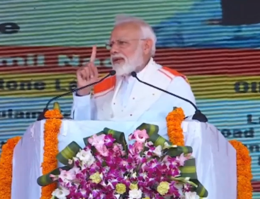 PM Narendra Modi launches development projects in Kanyakumari