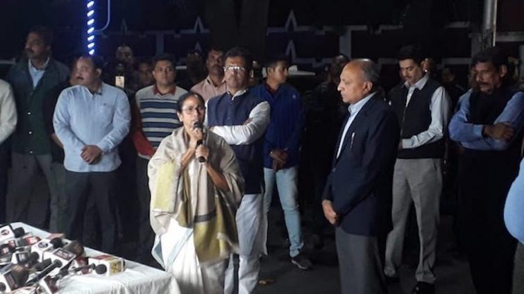 CRPF guard for CBI offices in Kolkata as Mamata sits on dharna against federal agency