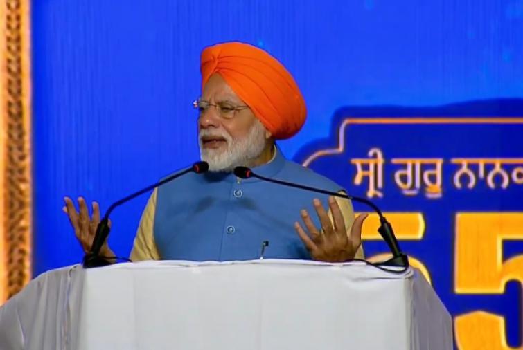 Prime Minister Narendra Modi thanks Imran Khan for respecting the sentiments of India on Kartarpur Sahib