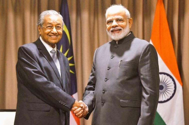 PM Modi raises Zakir Naik issue with Malaysian PM Mahathir Mohammad