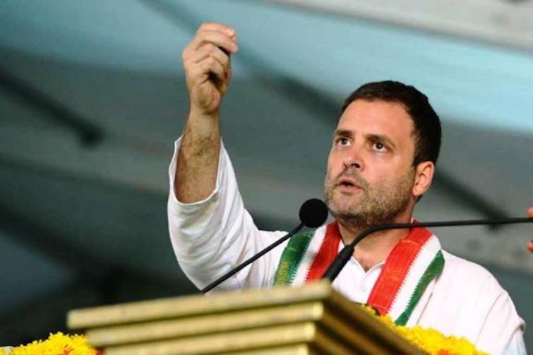 Parrikar wrote letter under pressure after meeting me: Rahul Gandhi