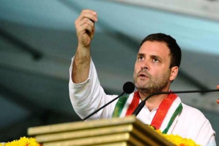 India now known to world as rape capital, PM Modi believes in violence: Rahul Gandhi