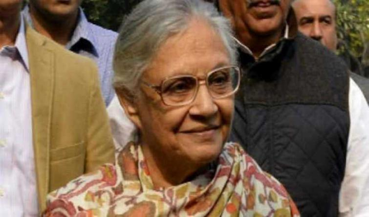 Sheila Dikshit thanks voters of Delhi, EC, poll staff, police for peaceful polling