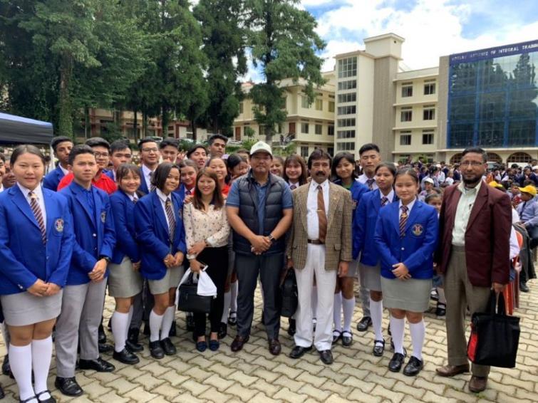 Meghalaya CM Conrad Sangma launches green campaign in Shillong