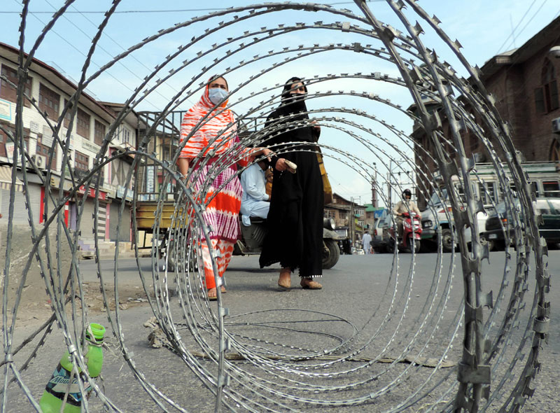 Kashmir is witnessing peace and progress after abrogation of Article 370