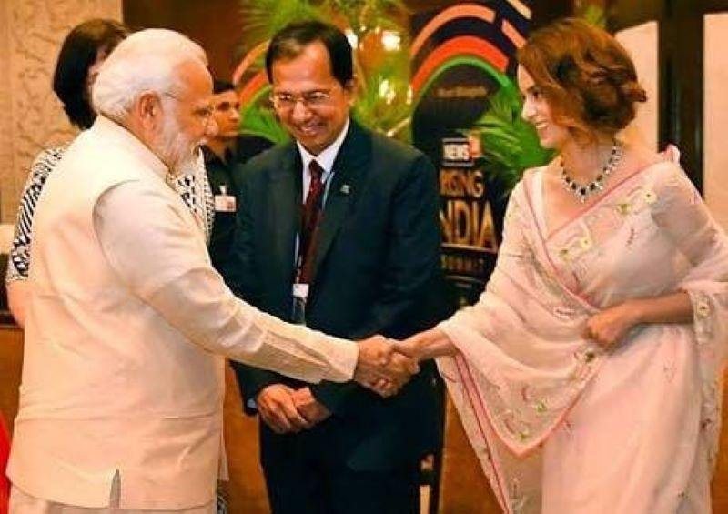 Kangana Ranaut wishes 'India's most-loved PM' Narendra Modi on 70th birthday