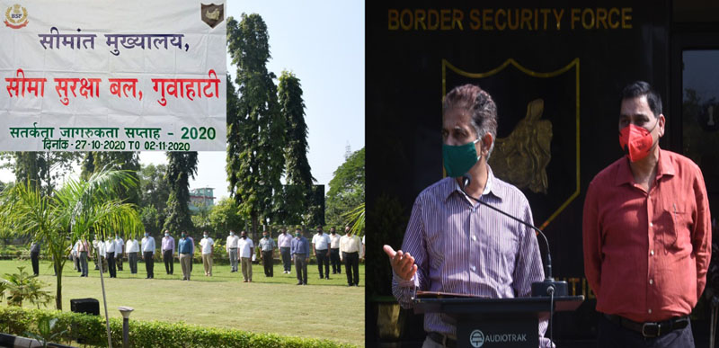 Vigilance Awareness week initiated by BSF Guwahati Frontier