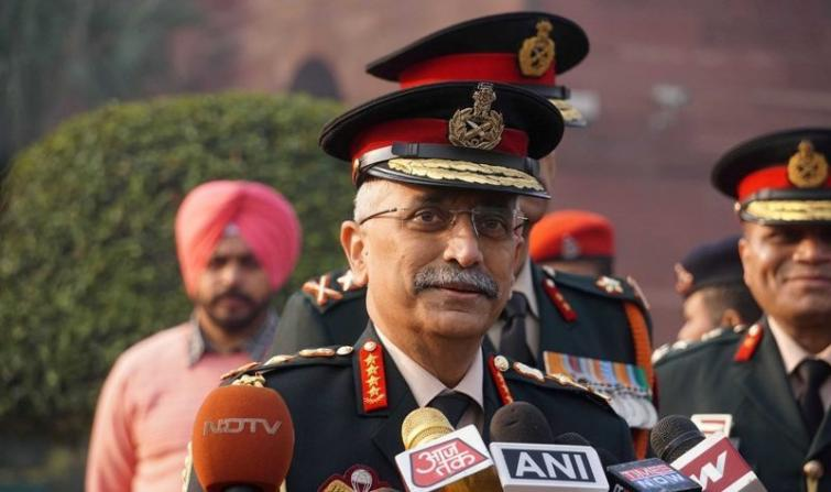 Indian Army chief Naravane reviews operational preparedness on western border