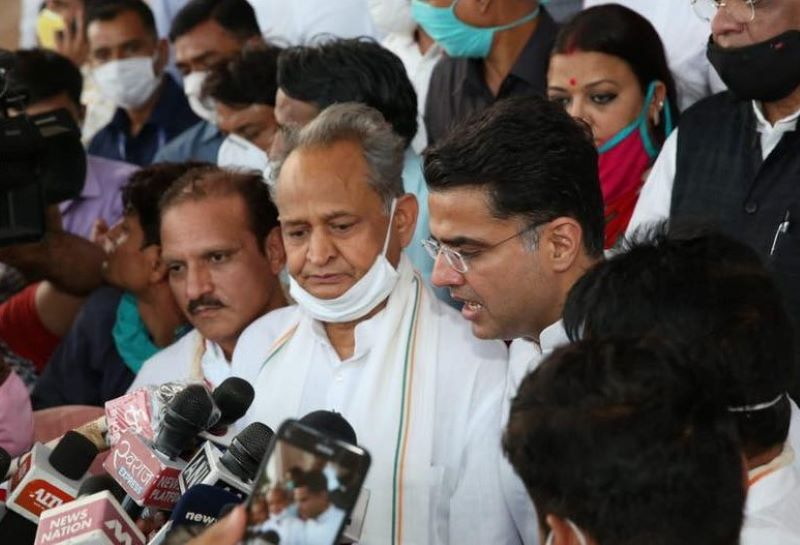 After Gehlot's 'forgive & forget' tweet, Sachin Pilot invited to meeting at 5 pm