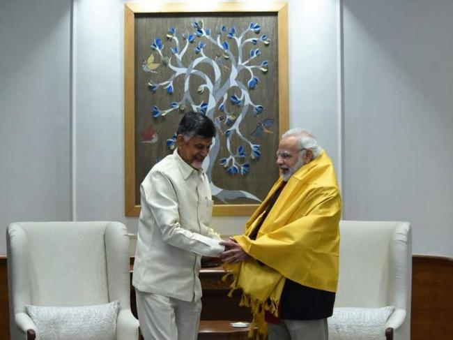 Your Government Is ''Humanity Personified'': Chandrababu Naidu appreciates PM Modi for Rs 1.75 lakh crore package