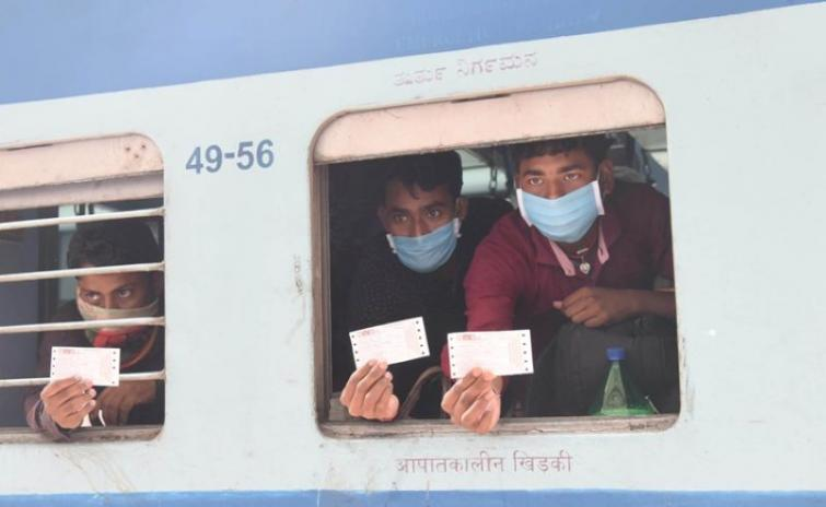 Shramik Express trains leave with 3622 passengers on board