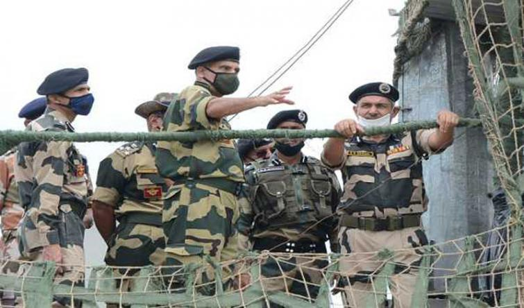 DG BSF reviews security situation of Jammu Frontier