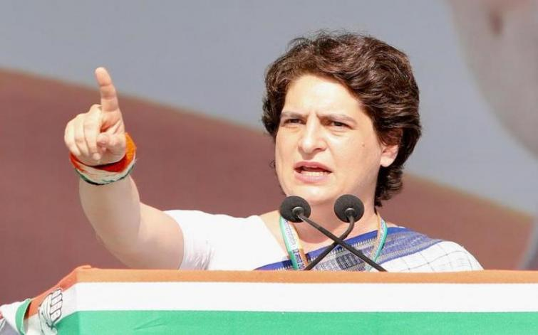 Priyanka takes on Yogi govt over arrest of party leader in Lucknow involved in anti-CAA violence