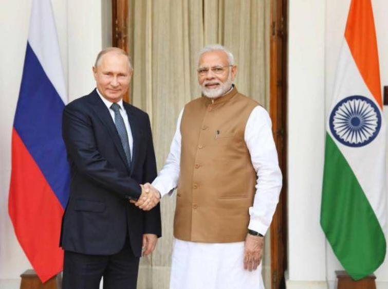 PM Modi holds telephonic conversation with Russian Prez Putin, shares concern on Covid-19 pandemic