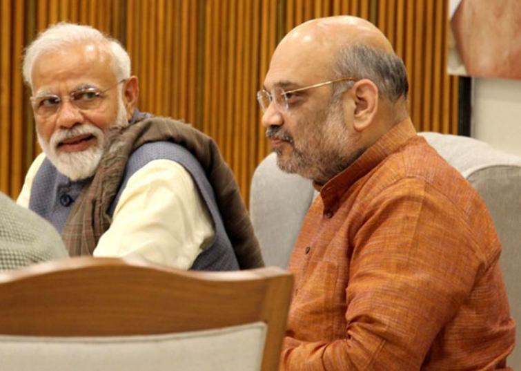 Amit Shah hails PM Modi for surprise visit to Leh