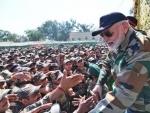 Jammu and Kashmir:4 terrorists killed during gunbattle, Indian PM Narendra Modi appreciates security forces