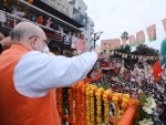 GHMC polls: Amit Shah's road show ends midway