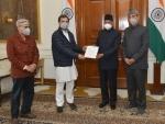 Congress delegation calls on President Kovind over farmers' issue