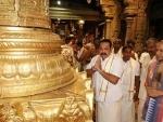 Sri Lanka PM Rajapaksa offers worship to lord Venkateswara