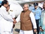 Vice President Naidu arrives Goa
