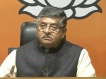 Don't preach us rajdharma: Ravi Shankar Prasad hits back at Sonia Gandhi
