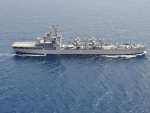 Mission Sagar: INS Kesari carrying 580 tonnes of food items reaches Maldives